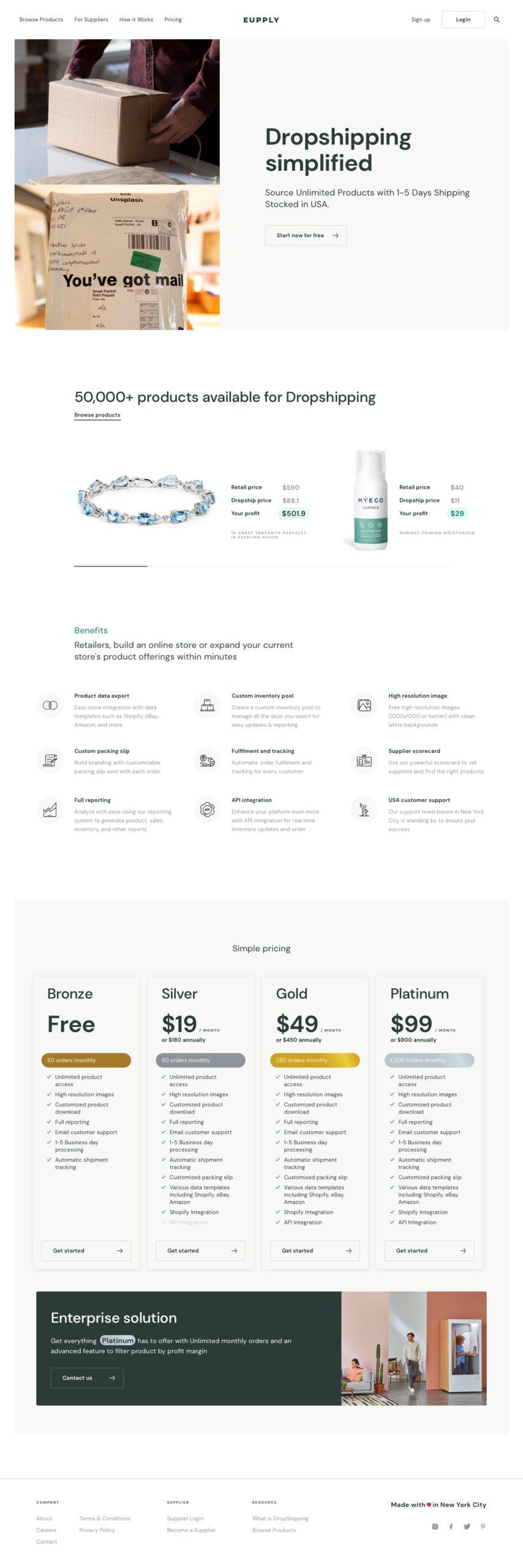 D-Homepage